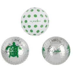 Navika USA Turtle 3-Pk. Printed Golf Balls