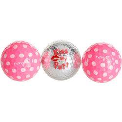 Navika 3-pc. Kiss My Putt Golf Balls