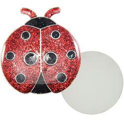 Womens Lady Bug Ball Marker Lapel Pin
