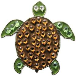 Womens Turtle Ball Marker Hat Clip