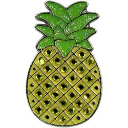 Womens Pineapple Ball Marker Hat Clip