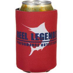 Reel Legends Reel Red Can Cooler