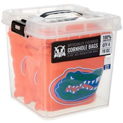 Florida Gators 4-pc. Corn Filled Cornhole Bag Set