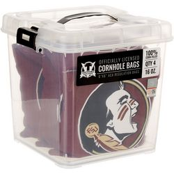 Florida State 4-pc. Logo Corn Filled Cornhole Bag