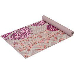 Gaiam 4mm Boho Yoga Mat