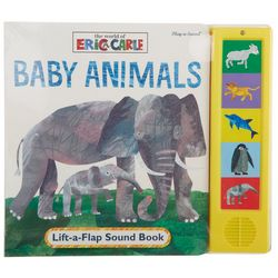 Eric Carle Baby Animals Lift-A-Flip Sound Book