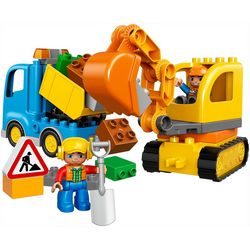 Lego Duplo 26-pc. Truck & Tracked Excavator Set