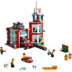 City Fire Station Building Set