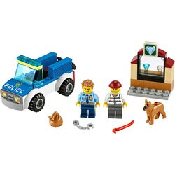 City Police Dog Unit Building Set