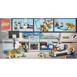 Jurassic World Dr. Wu's Lab Baby Dinosaurs Breakout
