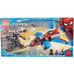 Spider-Man Spiderjet vs Venom Mech