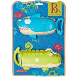 2-pk. Splishin Splash Shark Toy Set