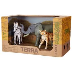 Terra 3-pc. Safari Animal Figure Set
