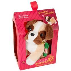 Posable Boxer Pup Plush Toy