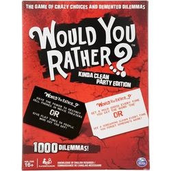 Would You Rather Kinda Clean Party Edition