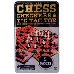 Chess & Checkers & Tic Tac Toe