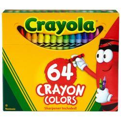 64 Count Nontoxic Crayons
