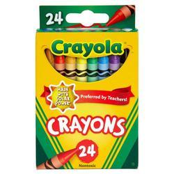 24 Count Nontoxic Crayons