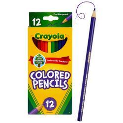 12 Count Nontoxic Colored Pencils