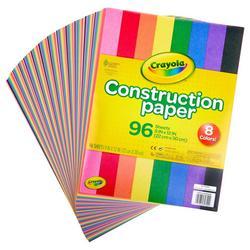 96-pk. Construction Paper Set