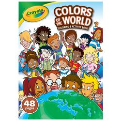 48 Page Colors Of The World Coloring & Activity Book