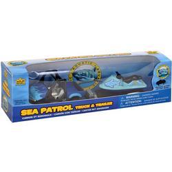 2-pc. Sea Patrol Truck & Trailer Set