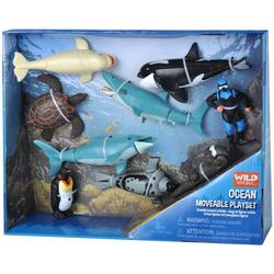 9-pc. Ocean Moveable Play Set
