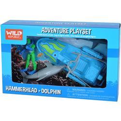 Hammerhead & Dolphin Play Set
