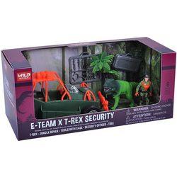 Wild Republic 6-pc. E-Team T-Rex Security Play Set