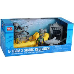 4-pc. E-Team Shark Research Play Set