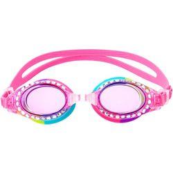 Girls Rainbow Rhinestone Goggles