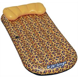 Wild Things Cheetah Mat Pool Float