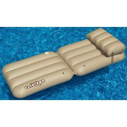 Tan Flip Flop Pool Lounger