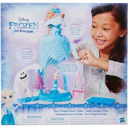 Frozen Elsa's Magical Snow Maker