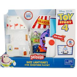 Minis Buzz Lightyear's Star Adventurer Playset