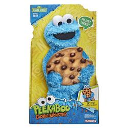 Peekaboo Cookie Monster Plush Toy