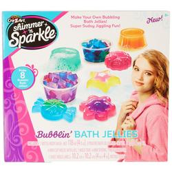 Shimmer N' Sparkle Bubblin' Bath Jellies Set