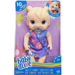 Baby Alive Interactive Blonde Hair Baby Doll