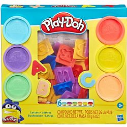 Play-Doh Fun Letters