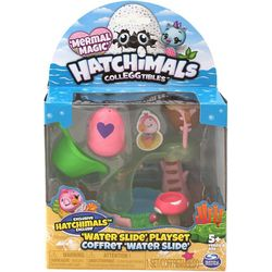 Hachimals Colleggtibles Mermal Magic Water Slide Playset