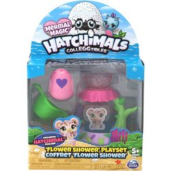 Hachimals Colleggtibles Mermal Magic Flower Shower Playset
