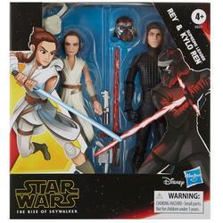 Rey & Kylo Ren Action Figure Set