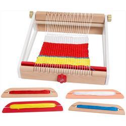 8-pc. Kid's Craft Weaving Loom