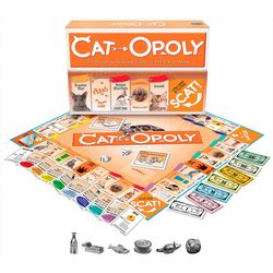 Late For The Sky Cat-Opoly Board Game
