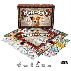 Late For The Sky Mutt-Opoly Board Game