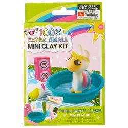 Pool Party Llama Mini Clay Kit
