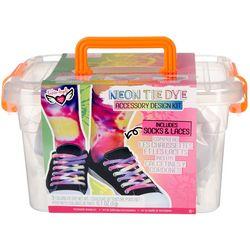 Neon Tie Dye Socks & Laces Kit