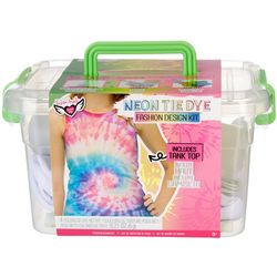 Fashion Angels Neon Tie Dye Tank Top Kit