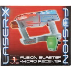 Laser X Fusion Blaster & Micro Receiver Blaster Toy