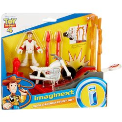 Imaginext Duke Caboom Stunt Set